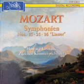 Mozart Symphonien